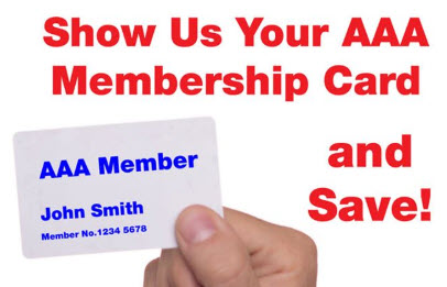 Autosys offers discounts for AAA Members!