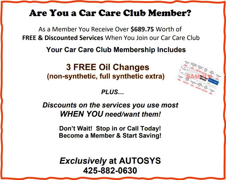 Autosys Car Care Club
