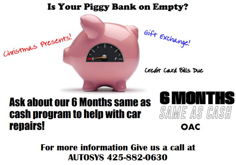 Autosys 6 Months Same as Cash Program