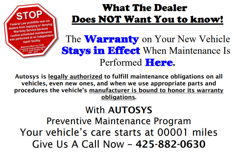 What Your Dealer Doesn't Want You to Know About Your New Car Warranty